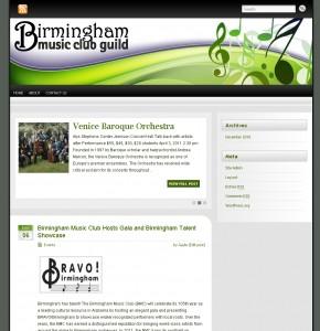 BirminghamMusicClubGuild.org