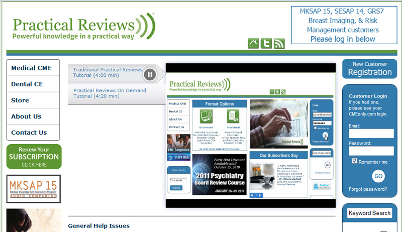 As a Practical Reviews subscriber, you have unlimited access to our entire content library of all 23 medical and dental specialties we offer.